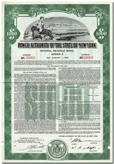 New York, State of (Power Authority)