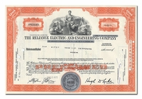 Reliance Electric and Engineering Company, Issued to Bache & Co.