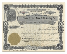 Republic Iron Mask Gold Mining Company (Washington)