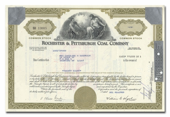 Rochester & Pittsburgh Coal Company