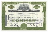 Rockwell Spring and Axle Company