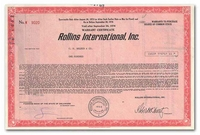 Rollins International, Inc.