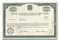 Royal National Bank of New York
