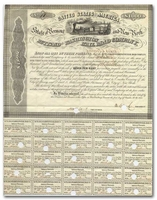 Rutland and Washington Railroad Company (Signed by Erastus Corning)