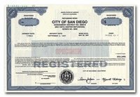 San Diego, City of (Specimen)
