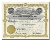Silver Mountain Lead Mines, Inc. (Idaho)