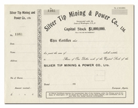 Silver Tip Mining & Power Co., Ltd. (Washington)