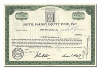 Smith, Barney Equity Fund, Inc.