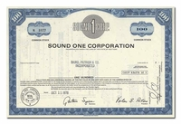 Sound One Corporation