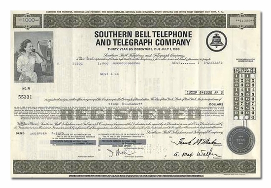 Southern Bell Telephone and Telegraph Company