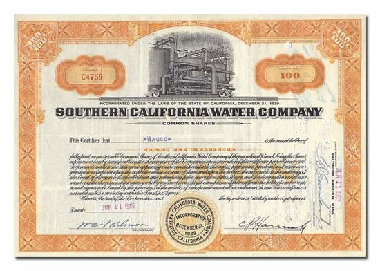 Southern California Water Company