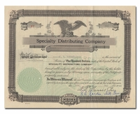 Specialty Distributing Company (Georgia)