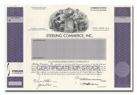 Sterling Commerce, Inc. (Specimen)