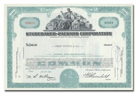 Studebaker-Packard Corporation, Issued to Dean Witter & Company