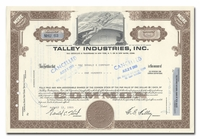 Talley Industries, Inc.