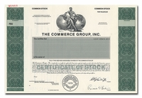 The Commerce Group, Inc. (Specimen)