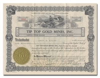 Tip Top Gold Mines, Inc.