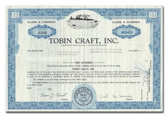 Tobin Craft, Inc.
