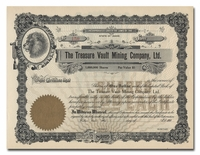 Treasure Vault Mining Company, Ltd.