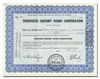 Twentieth Century Foods Corporation