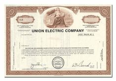 Union Electric Company (Specimen)