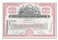 United Cigar-Whelan Stores Corporation