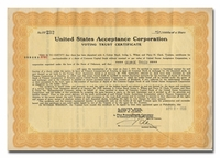United States Acceptance Corporation