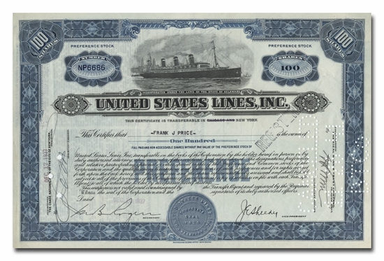 United States Lines, Inc.