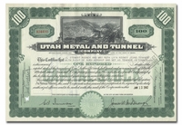 Utah Metal and Tunnel Company