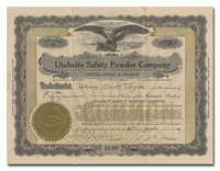 Utahnite Safety Powder Company