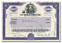UV Industries, Inc.