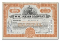 W. B. Jarvis Company (Ty Cobb's Business)