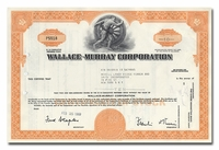 Wallace-Murray Corporation, Issued to Merrill Lynch, Pierce, Fenner & Smith