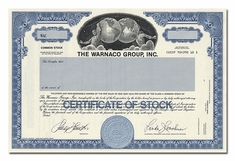 Warnaco Group, Inc. (Specimen)