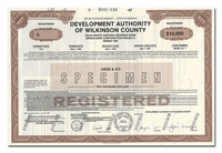 Wilkinson County, Georgia Development Authority (Specimen)