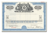 Wometco Enterprises, Inc. (Specimen)