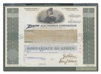 Zenith Electronics Corporation (Production File)
