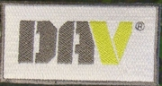 "4"" DAV Embroidered Patch"