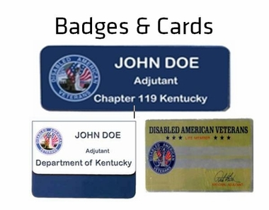 Badges & Cards
