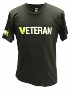 Veteran T-Shirt in Black