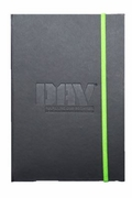 DAV Black Debossed Journal Notebook