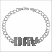 DAV Men' & Ladies Polished Bracelet
