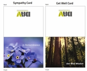 DAV Sympathy/Get Well Card Pack