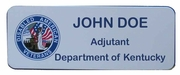 KEEP Department (State Level) White Magnetic Badge