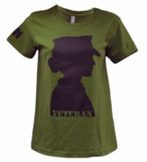 Ladies Stand Up For Women Veterans T-Shirt