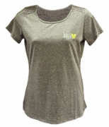 Ladies Tri-Blend Lace T-Shirt