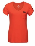 Ladies Ultra Soft Grenadine Jersey V-Neck