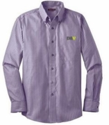 Men's Purple Oxford