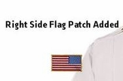 Apply Flag Patch to Uniform Shirt