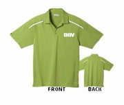 Moisture Wicking Green Polo